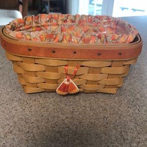 Longaberger Candy Corn Basket Combo